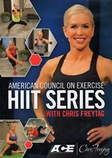 CHRIS FREYTAG HIIT SERIES 2 DVD SET AMERICAN COUNCIL ON EXERCISE NEW SEALED