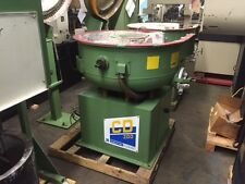 WALTHER TROWAL Model CD200 7 Cu. Ft. Vibratory Finishing Machine