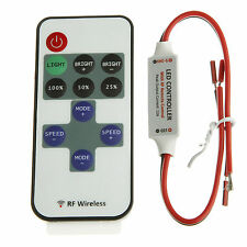 DC 12V RF Wireless Remote KEYS Switch Controller Dimmer LED Strip Light Y S*