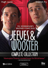 Jeeves and Wooster ~ The Complete Collection ~ BRAND NEW 8-DISC DVD SET
