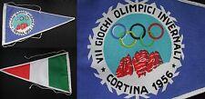 WINTER OLYMPIC GAMES CORTINA AMPEZZO 1956 GIOCHI OLIMPICI INVERNALI BANDIERA #1