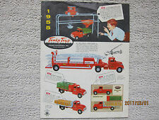 1955 Tonka Vintage Dealers Booklet Catalog (NOT a reprint) HARD TO FIND!