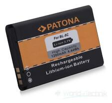 PATONA battery for Nokia BL-5c 100 101 109 112 113 1100 1101