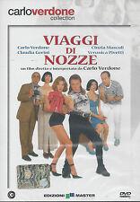 Dvd **VIAGGI DI NOZZE** con Carlo Verdone C. Gerini V. Pivetti nuovo 1995