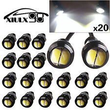10pcs Eagle Eye LED 9W 18mm 5730 Bulbs White Motor Car Backup Turn Signal Light