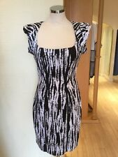 Leslie Dress Size 14 BNWT Black White RRP £157 Now £47