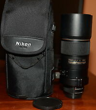 Nikon Nikkor 300mm  f/4.0 AF-S ED-IF 300 f/4 f4 lens. comes with case.