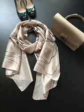 NEW!! Jigsaw Linear Flower Silk Long Scarf RRP£69 - GREAT Value! slight second