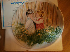 "WEDGEWOOD Collector Plate Mary Vickers ""Be My Friend"""