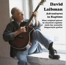 David Laibman Adventures In Ragtime Acoustic Fingerstyle Guitar Music CD