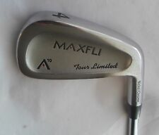 MAXFLI A10 TOUR LIMITED Nickel/Chrome 4 IRON R300 Steel Shaft, Golf Pride Grip