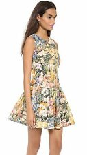 Luxury RED VALENTINO Garavani Wildflower Floral Printed Dress Small