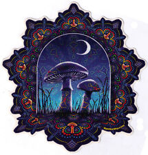 Mushroom Mandala - Window Art Sticker / Decal
