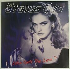 "Status Quo  Who Gets The Love? Single 7"" UK 1988"