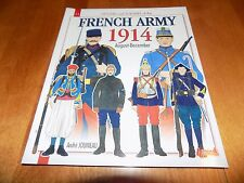 FRENCH ARMY 1914 Officers Soldiers Uniforms Uniform Ranks Soldier Army Book NEW