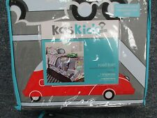 "KAS KIDS AUSTRALIA FULL-QUEEN  92"" X 90"" DUVET COVER  SET BRAND NEW ROAD TRAIN"
