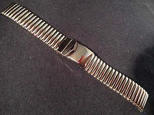 ZRC France 18mm or 20mm Expansion Stainless Steel & Flip Lock Watch Band $39.95