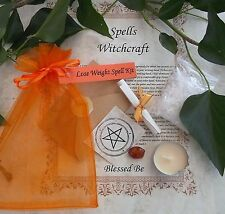 Perdere peso INCANTESIMO KIT votive Candle Magic wicca creato da una strega