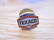 Texaco Safe Driver Pin Back--4 Years--1/10 10K Gold Filled