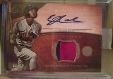 2014 Bowman Inception Eddie Rosario Auto/2 color PATCH #8/10 TWINS Red tint