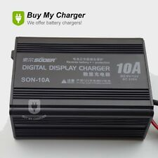 6V/12V 10A Smart Car Motorcycle Battery Charger Lead Acid Battery Charger 220V