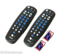 Two RCA UNIVERSAL TV DVD DIGITAL CONVERTER BOX REMOTE FOR MAGNAVOX ZENITH & MORE