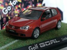 Schuco VW Golf V GOAL, orange-met. 3-tür., Dealer Mod.- 1/43