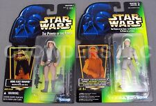 Star Wars PotF Luke Skywalker Hoth Gear & Rebel Fleet Trooper Holo Cardback NIP