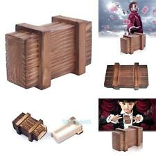 Wooden Magic Chinese Puzzle Box Secret Compartment Intelligence Toys Xmas Gifts