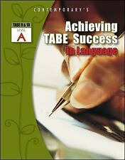 Achieving TABE Success In Language, Level A Workbook (Achieving TABE Success...