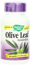Nature's Way Olive Leaf Standardized Capsules, 60 Ct (Pack of 3)