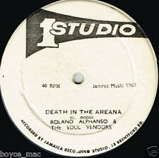 "studio 1 12"" : ROLAND ALPHONSO-death in the arena  (hear)"