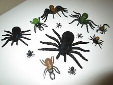 HALLOWEEN PROPS CREEPY CRAWLY HUGE SPIDER BUGS & MORE NEW