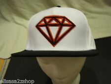 Men's white RARE trucker hat cap GIANT Diamond supply CO company one size fits