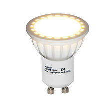 4watt GU10 LED warm white frosted cover lens 40w replacement for Halogen Bulbs