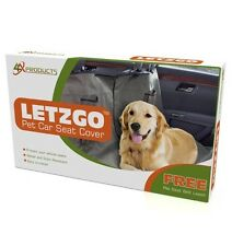 Dog Seat Cover for Cars, Free Seatbelt Leash (Value $9.99), Large Hammock type.