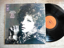 Barbra Streisand ‎– What About Today?  - LP