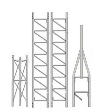 ROHN 25G Series 30' Self Supporting Tower Kit - 25SS030
