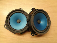 JAGUAR XJ6 XJ8 DRIVER & PASSENGER REAR DOOR SPEAKERS 2W9318808 BC