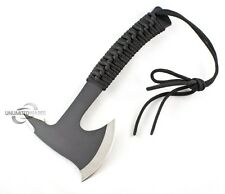 "8.5"" SURVIVAL TOMAHAWK TACTICAL THROWING AXE w/ SHEATH BATTLE Hatchet Knife Hawk"