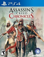 ASSASINS CREED CHRONICLES PS4 NEW! ACTION! 3 GAMES IN 1! INDIA, CHINA, RUSSIA