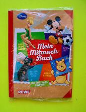 Rewe Disney Mitmach Sticker 1x SAMMELALBUM Album Ovp