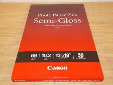 Canon Photo Paper Fotopapier Plus SG-201 weiß A3+ 329x483mm 50 Sheets 260g