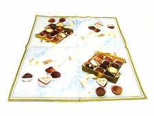 IHR - TOVAGLIOLI LUNCH - CHOCOLATES LIGHT BLUE - 33x33cm - 4 PZ - L75449 - 61