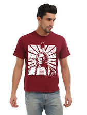 Sitting Bull Native T-Shirt ,100%Cotton, Graphic Tee,Neon(Adult's Size:S,M,L,XL)