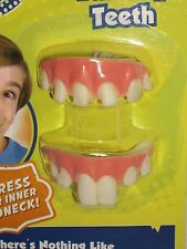 Halloween Costume Hillbilly Big Bubba Dentures Buck Teeth Rotten Gap Chipped