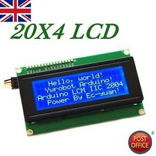2004 20X4 Character LCD Module Display Blue Backlight For Arduino LCD HD44780
