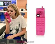 Autentico Originale Moschino rosa BARBIE DREAM iPhone 5 GOMMA Designer S C caso