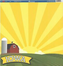 Reminisce - Iowa Scrapbooking Paper - Travel 22014