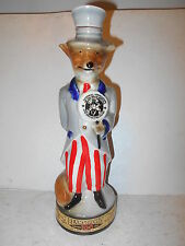 1971 National Association of Jim Beam Bottle Club Fox Decanter